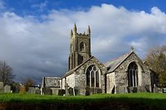 Lewannick Church (explored) (Nige H (Thanks for 20m views)) Tags: england sky church clouds cornwall lewannick lewannickchurch