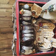 TTG (Two Twisted Gypsies) Tags: vintage gypsy bohemian repurposed ttg skeletonkeys briantice repurposedjewelry salvagedtreasures twotwistedgypsies michelletice oonjewlerly spoonjewlery michelleltice thereclaimedrose spoonjewlerly