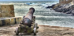 DSC_1705 Come on Then ! (mike193823319483) Tags: sea port nikon cornwall gun harbour cannon 28300mm d600 porthleven iso2000