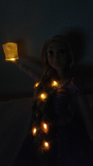 Christmas glow! (ninjagirlsakura1) Tags: rapunzel flynnrider mothergothel disneystorerapunzel deluxefeaturerapunzel