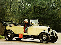 a 12/24 Citron 1927 ~ made in Slough, England ( in France  - known as  1927  b14 f (John(cardwellpix)) Tags: uk england english corner december sunday citroen surrey 0n torpedo guildford nr slough 13th rare newlands manufactured 1224 surviving albury 1927 rhd 2015 b14 merrow