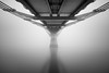 Close Encounters (vulture labs) Tags: new bridge blackandwhite london art fog architecture zeiss nikon long exposure year monochromatic millennium firecrest vulturelabs d800e