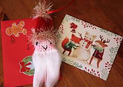 Sugarelf Santa  (Ana Camamiel) Tags: santa christmas adorno navidad handmade ornament papnoel sugarelf isugarelf