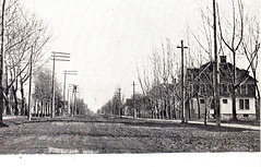 """CEN Fremont MI c.1909 near Downtown on East Main Street looking to the Residential District DIrt Street Early Automobile and Harse and Buggy Days still Photograher WILL CANAAN Card Grand Rapids2 (UpNorth Memories - Donald (Don) Harrison) Tags: travel usa heritage history tourism st vintage antique michigan postcard memories restaurants hotels trailer roadside upnorth steamship cafes excursion attractions motels mackinac cottages cabins campgrounds city"""" bridge"""" island"""" """"car upnorthmemories rppc wonders"""" """"big """"railroad """"michigan memories"""" mac"""" """"state parks"""" entertainment"""" """"natural harrison"""" """"roadside ferry"""" """"travel """"don """"tourist """"mackinaw puremichigan stops"""" """"upnorth straits"""" ignace"""""""