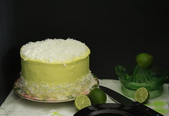 Coconut & Lime Cake (butterharvest) Tags: cake dessert sweet coconut layercake dessertsweet coconutlimecake