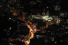 Vaivakawn area - Aizawl city by night (azara ralte) Tags: vaivakawn aizawl aizawlcity northeastindia mizoram aizawlnightscene vvk zan aizawlkhawpui nightscene
