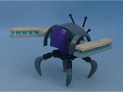 Grinder 4 (Mantis.King) Tags: lego legogaming legomecha moc mechaton mobileframezero mfz mf0 microscale mecha mech multiped scifi futuristic wargames