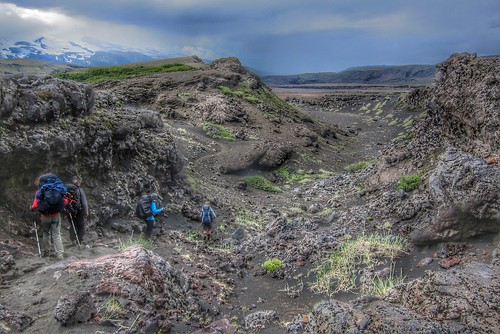 Iceland ~ Landmannalaugar Route ~ Ultramarathon is held on the route each July ~ Tekking Hiking