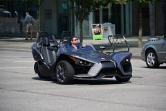 Canada 2016  Vancouver  Polaris Slingshot tricycle (Michiel2005) Tags: tricycle polaris slingshot vancouver bc britishcolumbia canada
