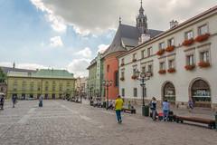 Krakow (stevefge) Tags: krakow poland squares oldtown reflectyourworld people