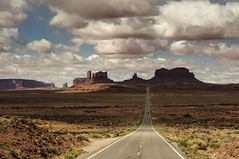 the open road... (Alvin Harp) Tags: southernutah mexicanhat utah openroad dramaticclouds landscape americanwest travels adventures sonynex5r april 2014 alvinharp