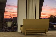 Howell_emotions_Peaceful_Lonley (Willow R. Howell Photography) Tags: naturallight sunset pinkclouds clouds chair