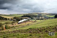 Black 5 No. 45407 - Galabank Junction, Stow (Jonathon Gourlay) Tags:
