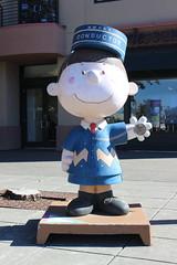 Charlie Brown, Railroad Square (New York Big Apple Images) Tags: santarosa sonoma peanuts schulz