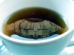 t(h)ea(tre) (gerben more) Tags: reflection tea cup thehague denhaag building art deco theatre