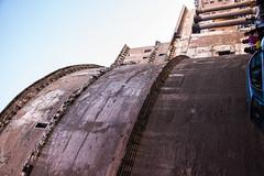 Rome - Pantheon Rotunda North Side (Le Monde1) Tags: italy rome city eternal lemonde1 nikon d610 vatican capitoline palatine tiber river roma stpeters sevenhills capital romancatholic pantheon statue niches inri ignenaturarenovaturintegra rotunda