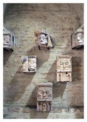 Abbaye Saint-Philibert de Tournus (abac077) Tags: abbaye saintphilibert tournus roman sculpture statue