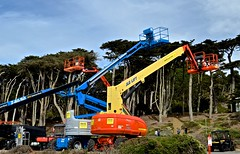 LG Lift, Lands End (David McSpadden) Tags: hertzrental jlglifts landsend