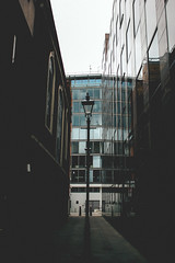.london. (abnormalbeauty.) Tags: city whitechapel building lamp scape perspective vanishing london british