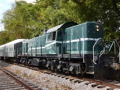 Road switcher (Jer*ry) Tags: train railroad excursion ride northalabamarailroadmuseum vintage antique preservation locomotive alcorsd1