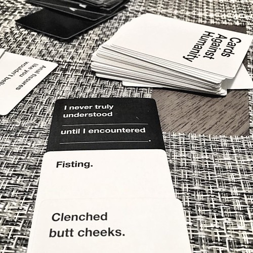 Well then... #cardsagainsthumanity