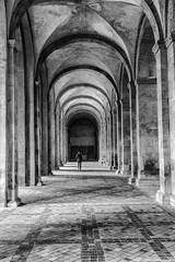 Monastery Eberbach (tfading) Tags: black sw kloster eberbach monastery