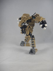 Trident taking aim (donuts_ftw) Tags: lego mecha mech moc robot military missile metalgear