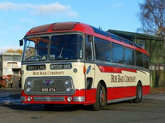 Visiting RBW today. (Renown) Tags: bus singledecker bar conversion aec reliance 470 ah470 willowbrook viscount devongeneral greycars 935gta rbw reliancebusworks