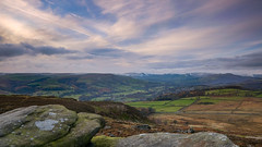 Surprise View(6) (S.R.Murphy) Tags: landscape nov2016 peakdistrict surpriseview fujifilmxt2 hathersage derbyshire 16x9 panoramic panorama fujixf1024mm outdoor sky hill rock cloud