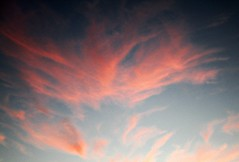 Wings From Heaven (Sallanches 1964) Tags: nature clouds october skyway blue pink heaven
