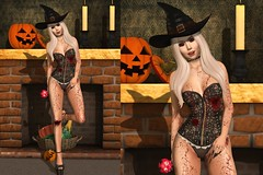 LOTD #529 Halloween Edition (bemacarthursl) Tags: second life blog blogger fashion gift free freebie hunt halloween spook spookilla letre