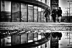 3 angels for.... (d26b73) Tags: schwarzweiss monochrome noiretblanc urbanarte blackandwhite streetphoto