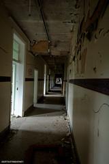 Mountain Ash Hospital Corridor