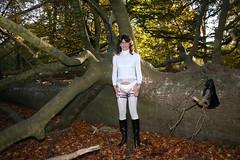 IMG_5337 (Kira Dede, please comment my photos.) Tags: kiradede kirad 2016 crossdresser copenhagen lingerie stockings upskirt dyrehaven