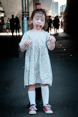 Child Zombie (Shane Henderson Fotografia) Tags: dressingup fujifilmxe2 fujifilm melbournezombiewalk people thebrainfoundation victoria xseries zombie child city zombieapocalypse southbank australia au