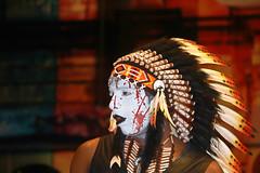 Happy Halloween (Chandana Witharanage) Tags: malaysia kualalumpur thedazzlingcapitalcity halloween halloweennight feathers blood ghost man face