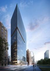 Небоскреб 685 First Avenue от Ричарда Мейера