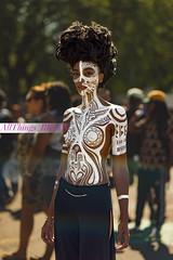 Body Paint (Allthingsbklyn) Tags: allthingsbklyncom allthingsbklyn naturl light portrait portraiture brooklyn afropunk afropunk2016 afropunkbk2016 sony a7r prime festival laulo body paint sacredori ori