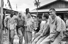 #Actress Jayne Mansfield visits with wounded American soldiers at the 3rd surgical hospital at Bien Hoa, Vietnam, on Feb. 18, 1967 [1024x666] #history #retro #vintage #dh #HistoryPorn http://ift.tt/2gAWY2E (Histolines) Tags: histolines history timeline retro vinatage actress jayne mansfield visits with wounded american soldiers 3rd surgical hospital bien hoa vietnam feb 18 1967 1024x666 vintage dh historyporn httpifttt2gawy2e