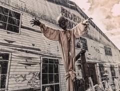 Horror House (HoustonHVAC170) Tags: fun ghost entertainment creepy fair zombie scary spooky tent thrill austria österreich house horror vienna wien prater tunnel
