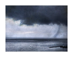 Rain Coming (ra1000) Tags: whiterock bc clouds rain semiahmoobay pier