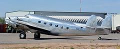 L-18 | N631LS | E60 | 20161023 (Wally.H) Tags: lockheed l18 lodestar n631ls e60 eloy airport