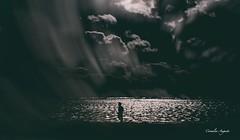 Allein.. (cornelia_auguste) Tags: corneliaauguste dmmerung einzigartigkeit emotion filtertechnik filterexperiment gegenlicht himmelsstimmung himmel kreativ kste light lichtstimmung meer menschen outdoor people skyline trume ufer wasser water wheel welle wellen wolkenstimmung wolkenbildung sky