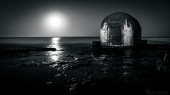 Pump house moonrise - 4k wallpaper DSC02748 B&W (cleansurf2) Tags: black white bw monotone mood dark water waterscape seascape sony screensaver sonyilce6000 sunrise moonrise moon moonlight reflection rock pump house orange ilce ultra 4k emount 3840 wallpaper widescreen wide aqua australia arty sunset decay hd landscape minimual newcastle mirrorless background backdrop beach coast night longexposure