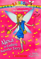 Alexa the Fashion Reporter Fairy (Vernon Barford School Library) Tags: 9780545587860 daisymeadows daisy meadows rainbowmagic fashionfairies 4 4th four fourth jackfrost goblins magic magical fairy fairies fantasy fantasyfiction fashion pen pens reporter reporters journalism journalists vernon barford library libraries new recent book books read reading reads junior high middle vernonbarford fiction fictional novel novels paperback paperbacks softcover softcovers covers cover bookcover bookcovers readinglevel grade4 rl4 quick quickread quickreads qr
