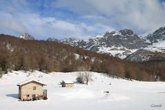 Domingueando (lesxanes) Tags: montaa mountain snow spain