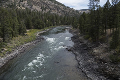 "Yellowstone River • <a style=""font-size:0.8em;"" href=""http://www.flickr.com/photos/63501323@N07/31306925146/"" target=""_blank"">View on Flickr</a>"
