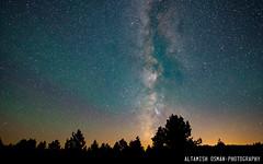 Milky Way Tree (Altamish Osman Photography) Tags: road park trip tower beauty night way landscape nikon devils astro national wyoming devilstower milky natgeo landscaoe d600
