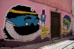 Pharmacia de Cultura (Joe Herrero) Tags: muro graffiti arte lisboa alto fachada pintada bairro farmacia