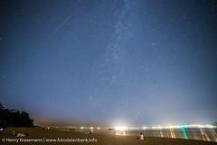 Sternenhimmel über Falckensteiner Strand Kiel (caulius) Tags: strand kiel falkenstein schleswigholstein falckenstein perseiden sternschnuppen